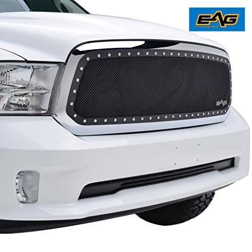EAG Mesh Grille Insert Fit for 13-18 Dodge Ram -