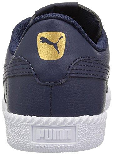 Puma Mens Astro Cup Läder Sneaker Peacoat-peacoat