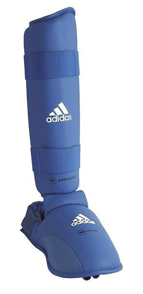 adidas Karate Schienbein und SpannschutzFuß Schoner blau, 2 Stück
