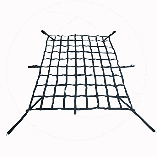 LT Sport 00842148158461 for Toyota Standard CAB Pickup 6.5' FT Short 6 1/2 Bed Truck Cargo Net ()