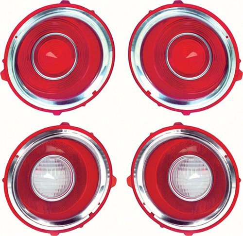 70-71 CAMARO RS TAIL LAMP/BACK UP LENS KIT