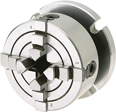 Shop Fox D3754 Small 4-Jaw Chuck with Plate by WOODSTOCK
