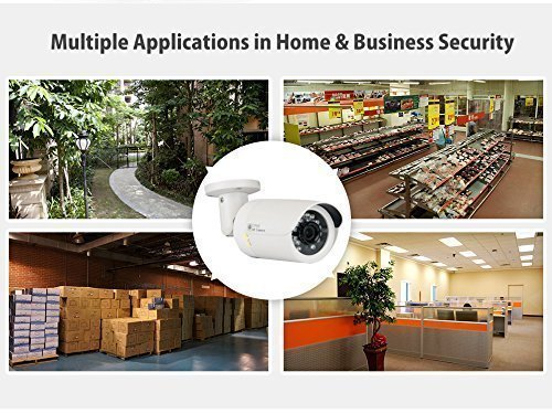 GW Security 5 Megapixel 2592 x 1920 Pixel Super HD 1920P Outdoor Network PoE 1080P Bullet Security IP Camera with 3.6mm Wide Angle Len by GW Security Inc (Image #6)