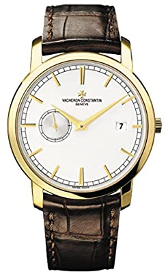 Vacheron Constantin Patrimony Traditionelle Silver Dial Mens Watch 87172000J-9512