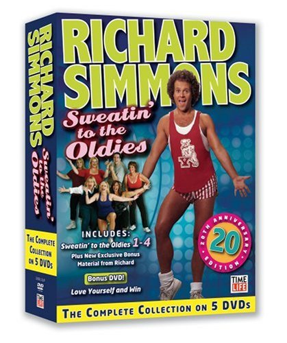 Sweatin' to the Oldies: The Complete Collection by WEA DVD