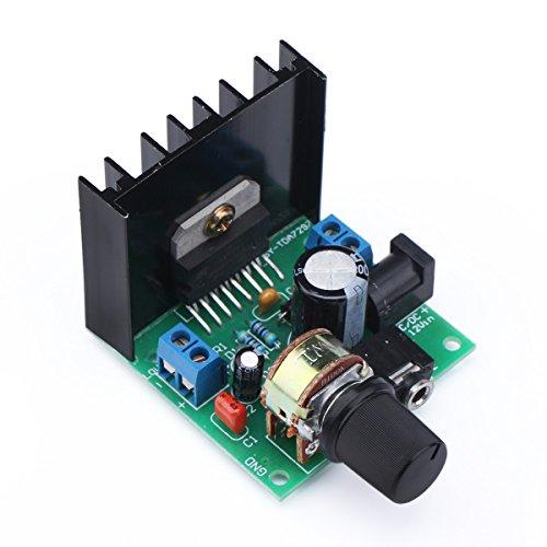 Mini Audio Amplifier Board, DROK Micro Stereo Amplifier Circuit Dual