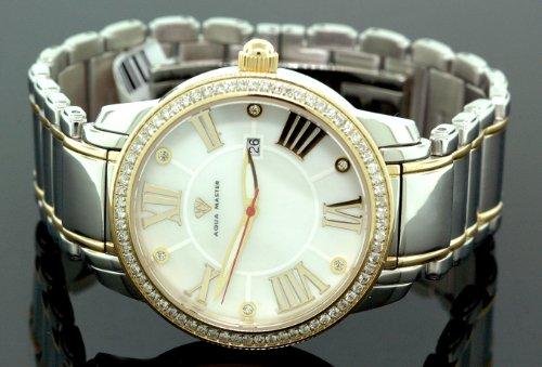 Aqua Master Mens Classic Diamond Watch W320f by Aqua Master