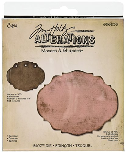 - Sizzix Movers & Shapers Die - Baroque by Tim Holtz