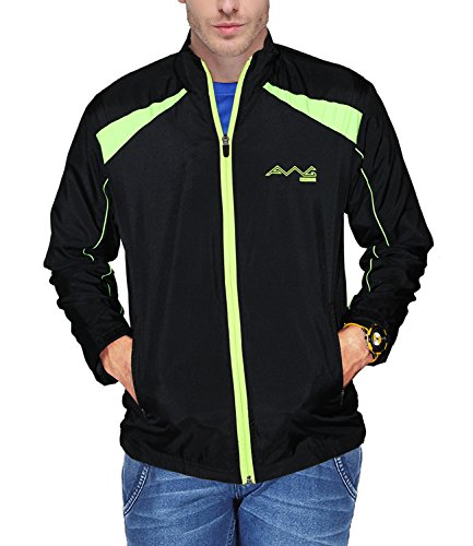 AWG Mens Black Premium Dryfit Jacket