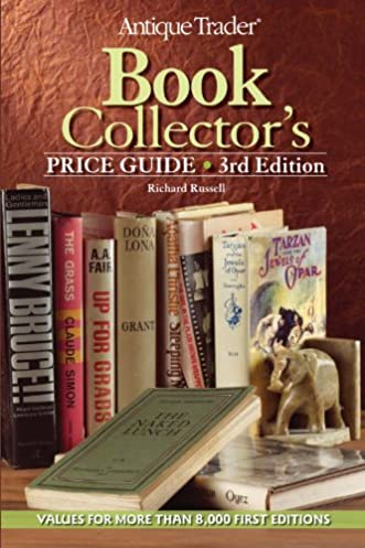 antique trader book collector s price guide richard russell rh amazon com Toy Antique Books antique books value guide