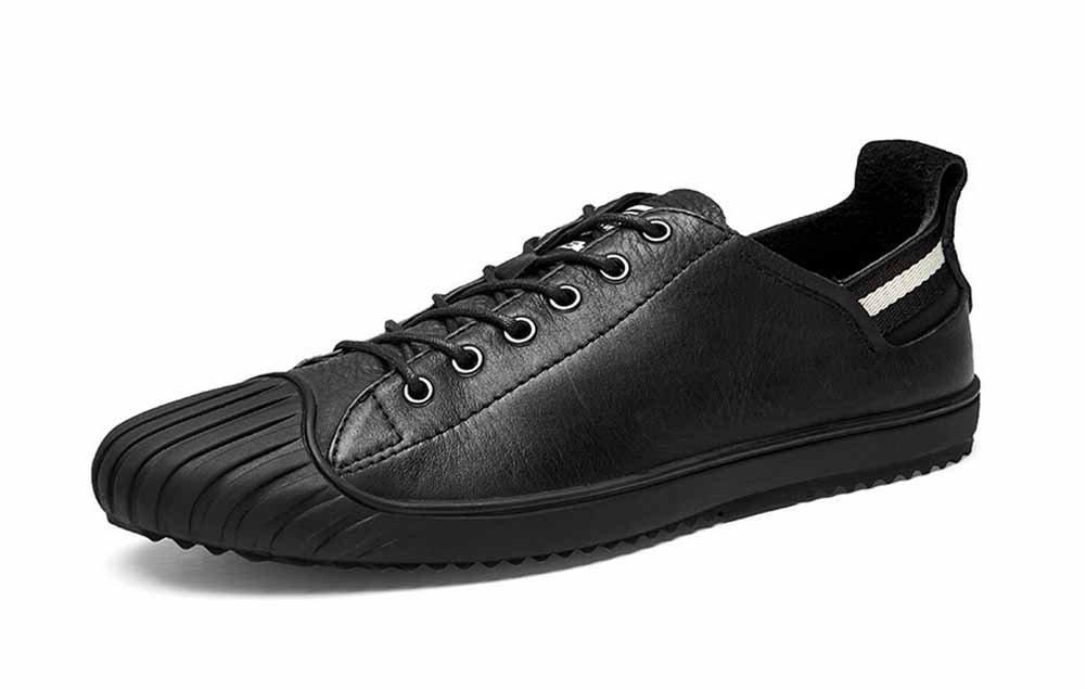 GLSHI Männer Skate Schuhe Frühling Herbst Mode-Trend Lace Lace Lace up Freizeitschuhe Low Top Turnschuhe 2b5a78
