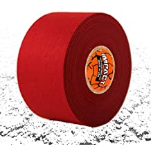 """IMPACT Athletic Tapes – Athletic Tape (1.5"""" x 15 yards) 50/50 Blend Polyester & Cotton for Durability - 100% All Natural Rubber Adhesive – Hypoallergenic - Trainers Tape"""