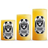Duck House NFL LED Light Candle Gift Set (3 Piece)