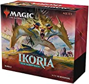 Magic: The Gathering Ikoria: Lair of Behemoths Bundle | 10 Booster Packs (150 Cards) | Foil Lands | Accessorie