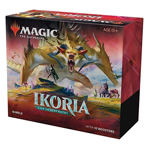 🥇 Magic: The Gathering Ikoria: Lair of Behemoths Bundle   10 Booster Packs