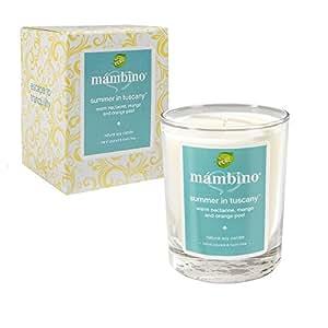 Mambino Organics: Summer In Tuscany Natural Soy Candle, 1 candle