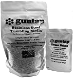 Stainless Steel Tumbling Media Pins - 0.047'' Diameter, 0.255'' Length (3 lb Pack)