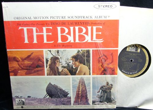 The Bible...In the Beginning [Original Motion Picture Soundtrack Album] (USA 1st pressing vinyl LP)