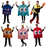 Pac-Man Deluxe Group Costume Set Of 6