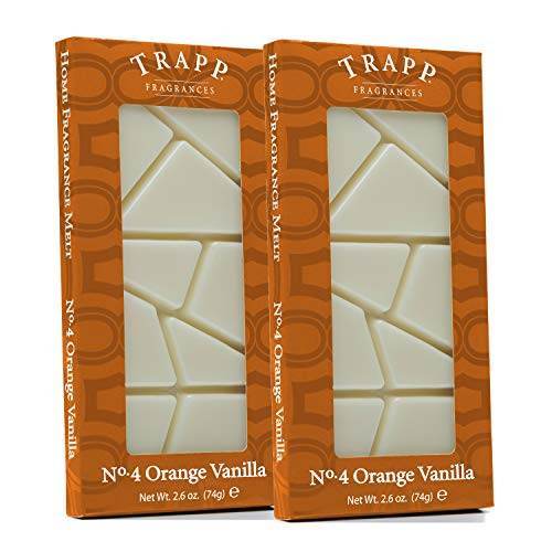 Trapp Home Fragrance Wax Melts - No. 04 Orange Vanilla, 2.6 oz (2 Pack)