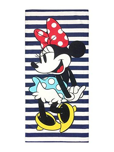 Disney Minnie Mouse Nautical Cotton Pool/Beach/Bath Towel