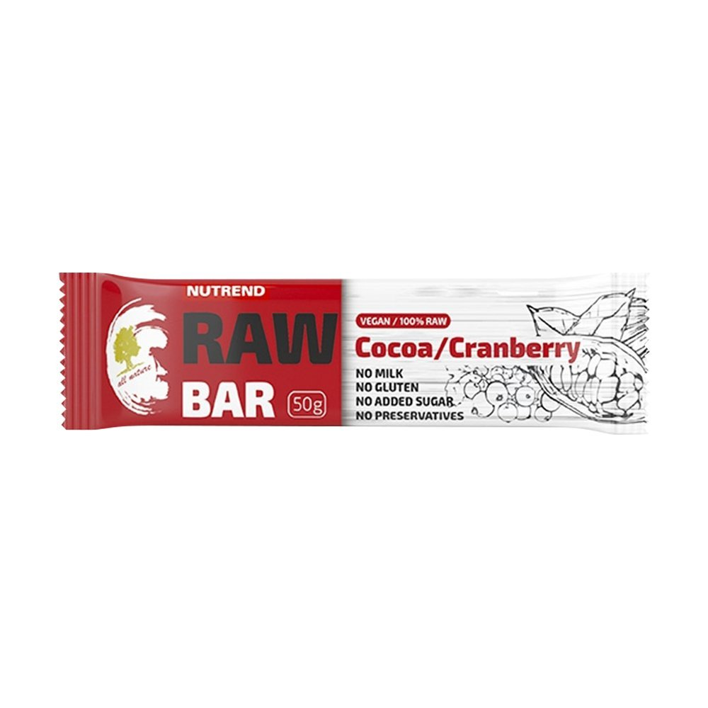 Nutrend RAW Protein Bar 20x50g marañón sabor excelente sabor ...
