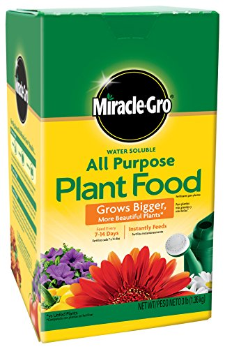 Miracle-Gro 1000283 Purpose Food, 3-Pound (Plant Fertilizer), 3 LB