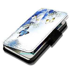 Funda tipo libro - diseño F145 - para HTC Deseo 310 - carcasa protectora para - (bulk)