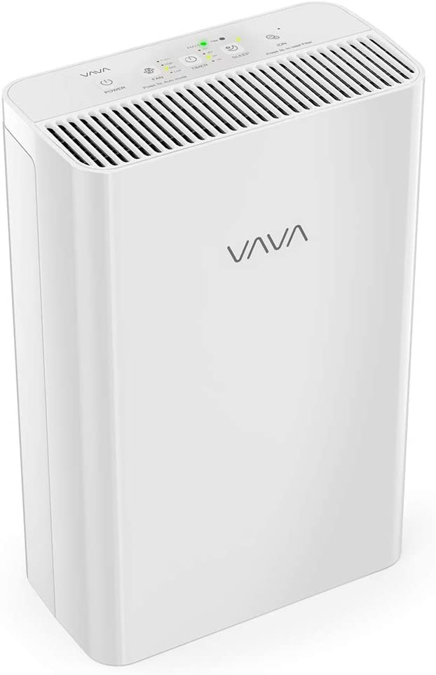 VAVA Air Purifier for Home and Large Room, True HEPA Air Filter Operated Silently, Air Cleaners for Allergies Smoke and Odor for Kitchen, Auto Mode, and Timer & Real-Time Air Quality Indicator