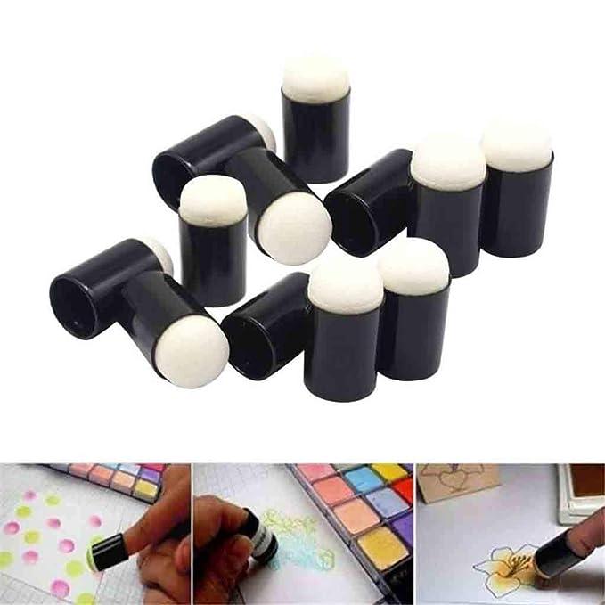 Daubers de esponja de dedo, 40 piezas por caja Herramientas ...