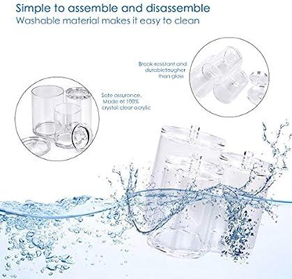 OZUAR watte Pad dispensador Kosmetex, Soporte para Discos de ...