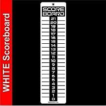LARGE White SCOREBOARD, Washers, Cornhole, Horseshoes, Bocce Ball