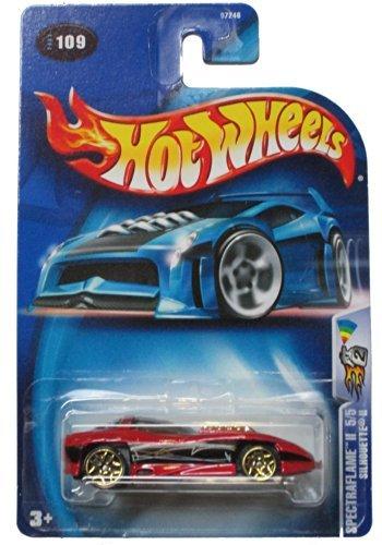 Hot Wheels 2003 Spectraflame II Silhouette II 5/5 RED 109 1:64 Scale - Hot Wheels Silhouette