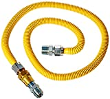 BrassCraft PSC1107 K5 Safety PLUS Gas Installation Kit for Range, Furnace & Boiler