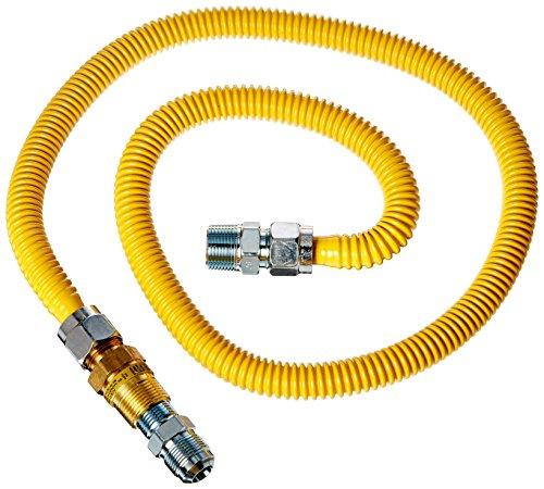 BrassCraft PSC1107 K5 Safety PLUS Gas Installation Kit for Range, Furnace & Boiler - Gas Installation Kit
