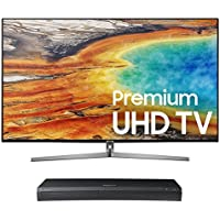 Samsung UN65MU9000 65 4K UHD Smart TV with UBD-M9500 4K Ultra HD Blu-ray Player