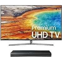 Samsung UN65MU9000 65 4K UHD Smart TV with UBD-M9500 4K Ultra HD Blu-ray Player
