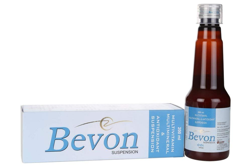 Buy Bevon Suspension - 200 ml (Pack of 3) Online at Low Prices in India -  Amazon.in