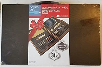 Sketching Croquis Deluxe Wood Art Case 31 piece Holiday Edition