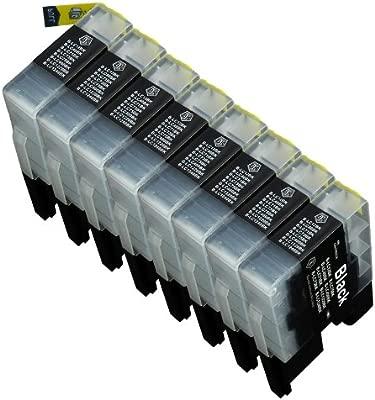 8 Multipack de alta capacidad Brother LC1240 , LC1280 Cartuchos ...