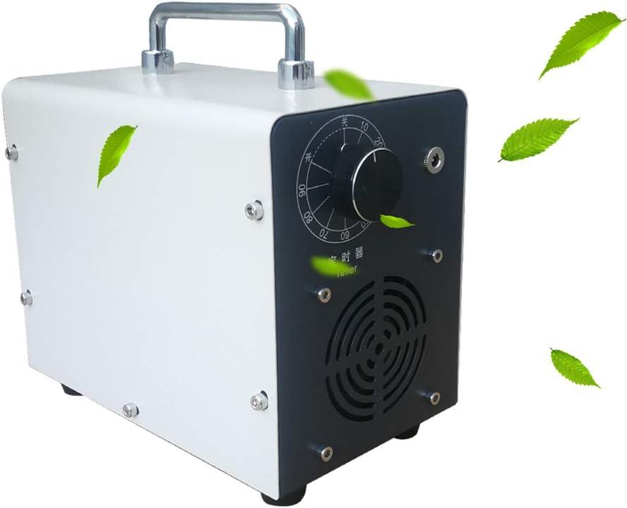 buyaolian M/áquina De Ozono Generador De Ozono Desodorizaci/ón del Generador De Ozono para La Carne Desinfecci/ón De Vegetales De Frutas 600 MG//H Dispositivo De Ozono Purificador De Aire Generador De O