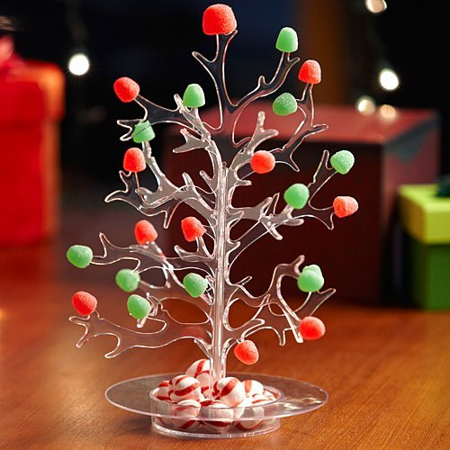 plastic christmas gumdrop tree
