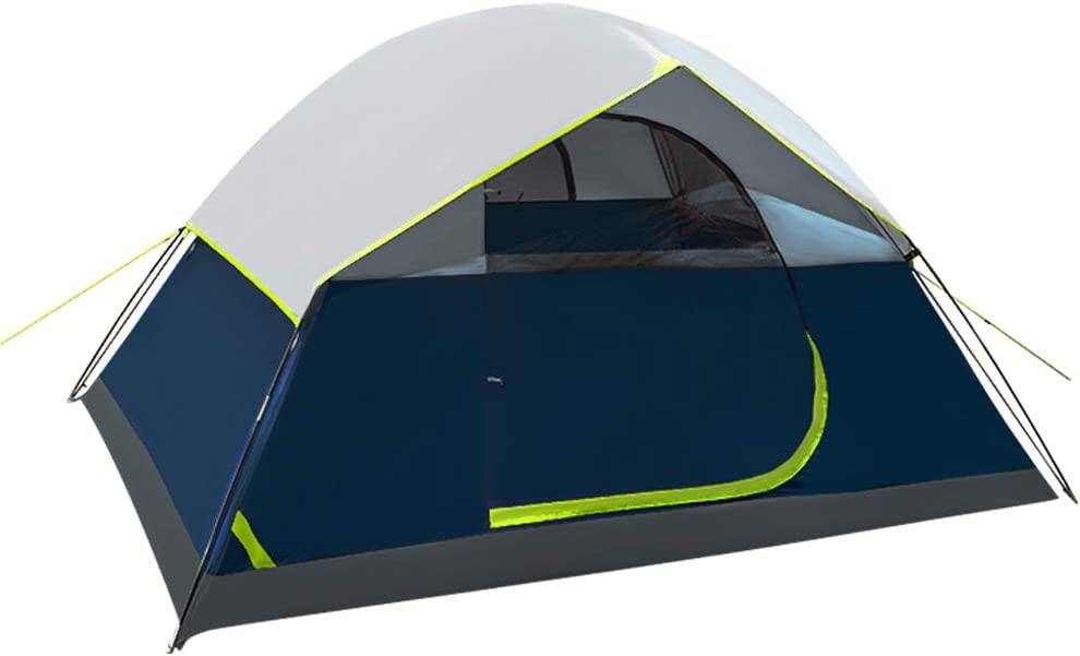 GEERTOP Camping Tent 4 Person Family Tent Double Layer Outdoor Dome Tent for Camp Backpacking Travel