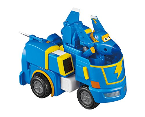 Super Wings - – Jerome'S Stunt Bot | Transforming Toy Vehicle Set | Includes Transform-A-Bot Jerome Figure | 2