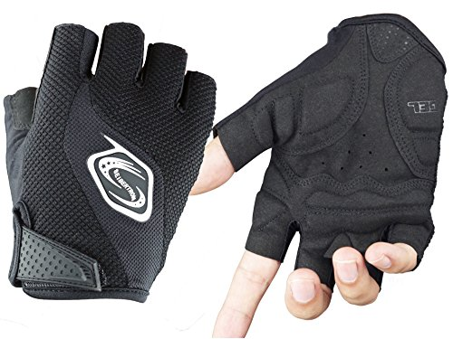 Seibertron Womens Fingerless Cycling Bicycle