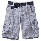 Urban Pipeline Boy's Striped Cargo Shorts (16)