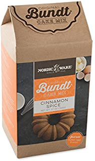 product image for Nordic Ware Cinnamon Spice Bundt Cake Mix