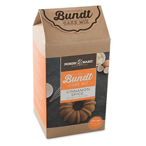 (Nordic Ware Cinnamon Spice Bundt Cake Mix)