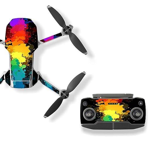 Colinsa - Juego de 6 Adhesivos de PVC Impermeables para Drone y ...