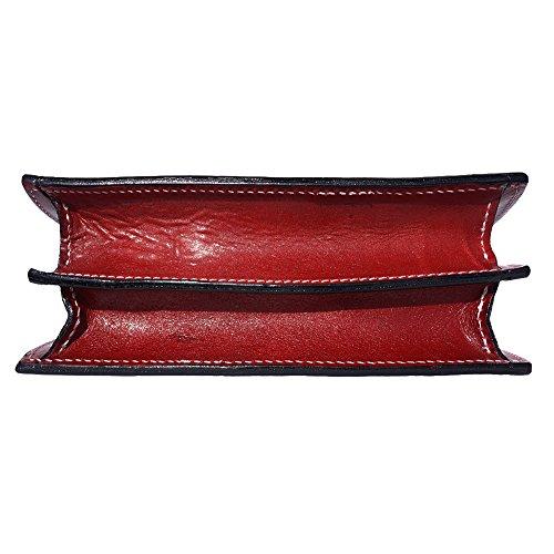 Bolsa ovalada Semi con asa incorporada 6881 Rojo